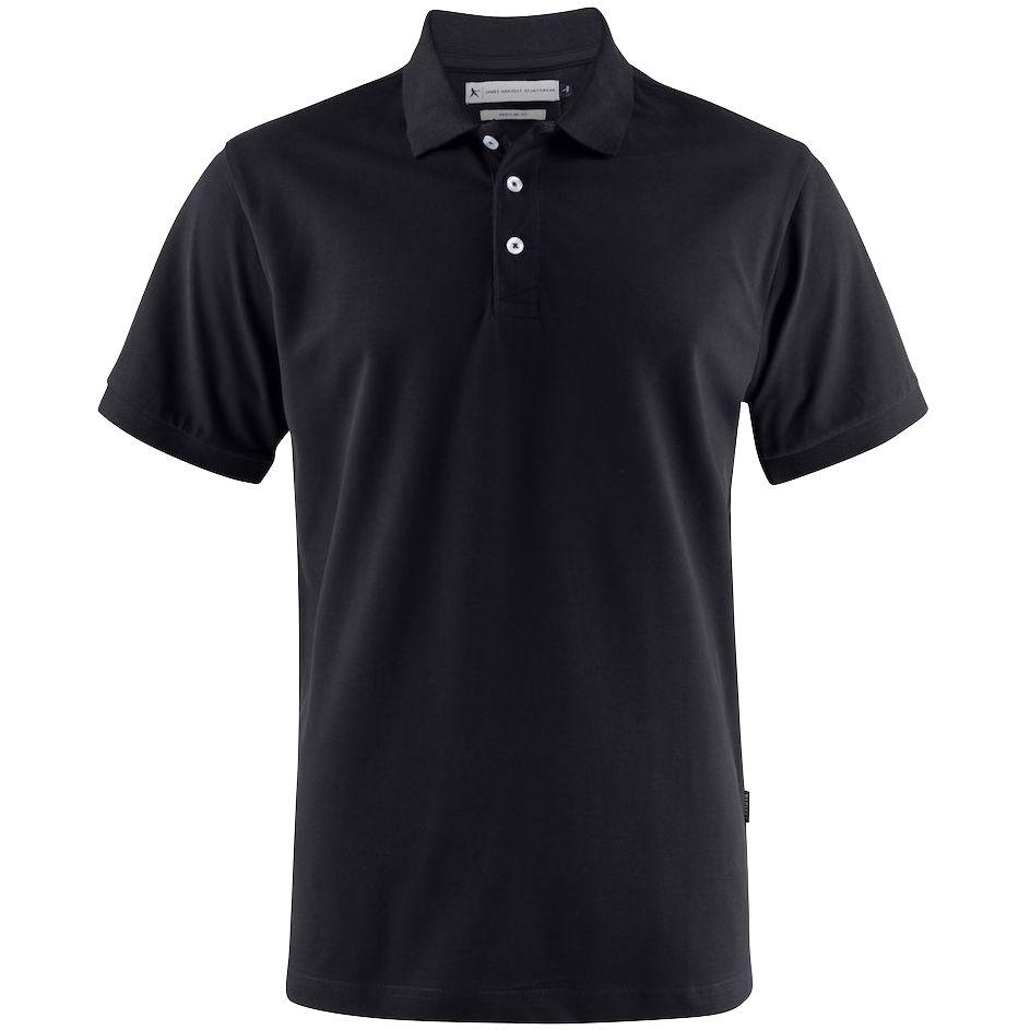 Рубашка поло мужская Sunset, черная