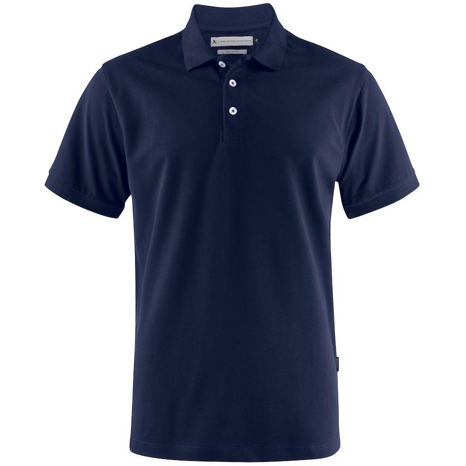 Рубашка поло мужская Sunset, темно-синяя