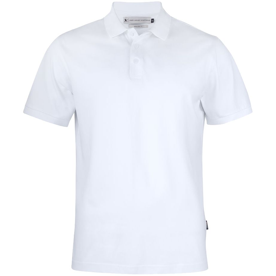 Рубашка поло мужская Sunset, белая