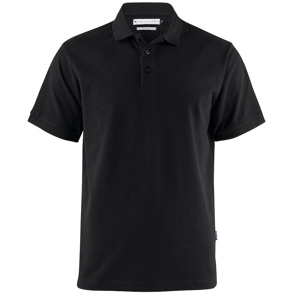 Рубашка поло мужская Neptune, черная