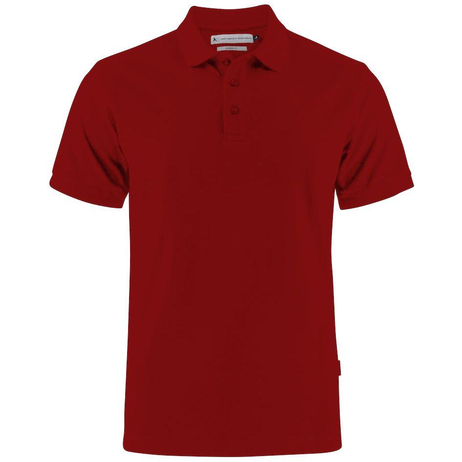 Рубашка поло мужская Neptune, вишнево-красная