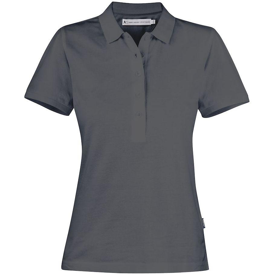 Рубашка поло женская Neptune, темно-серая