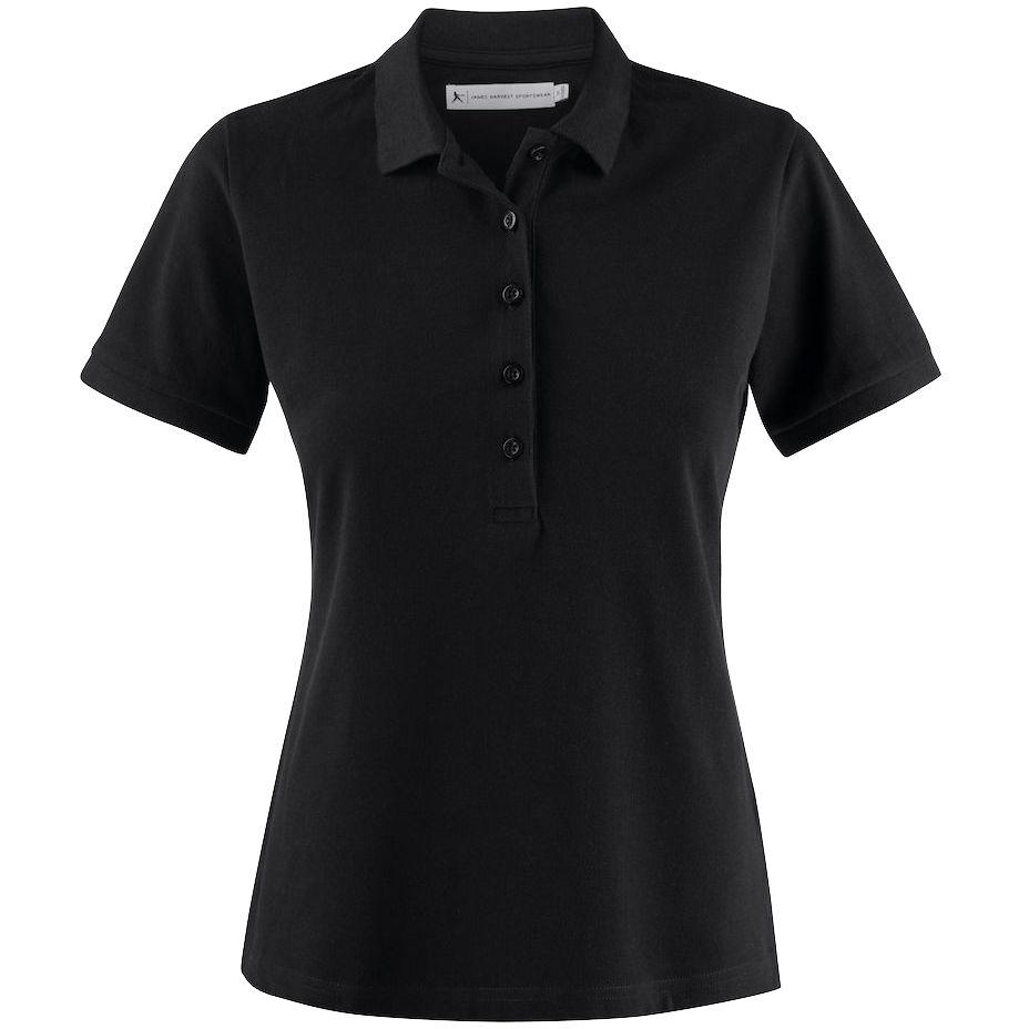 Рубашка поло женская Neptune, черная