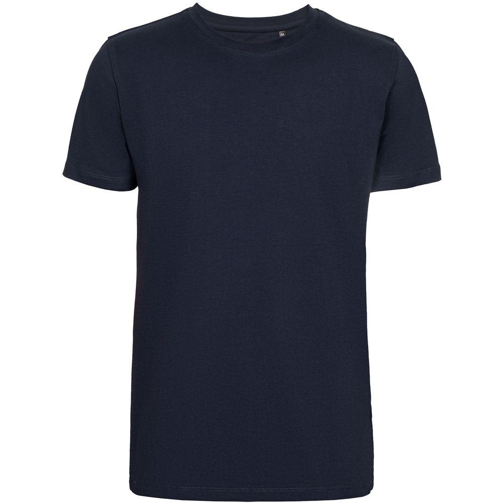 Футболка мужская T-bolka Stretch Light, темно-синяя (navy)
