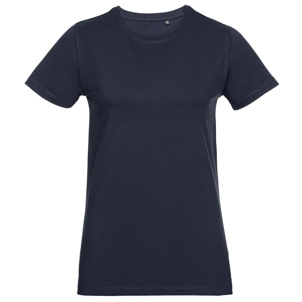Футболка женская T-bolka Stretch Light Lady, темно-синяя (navy)