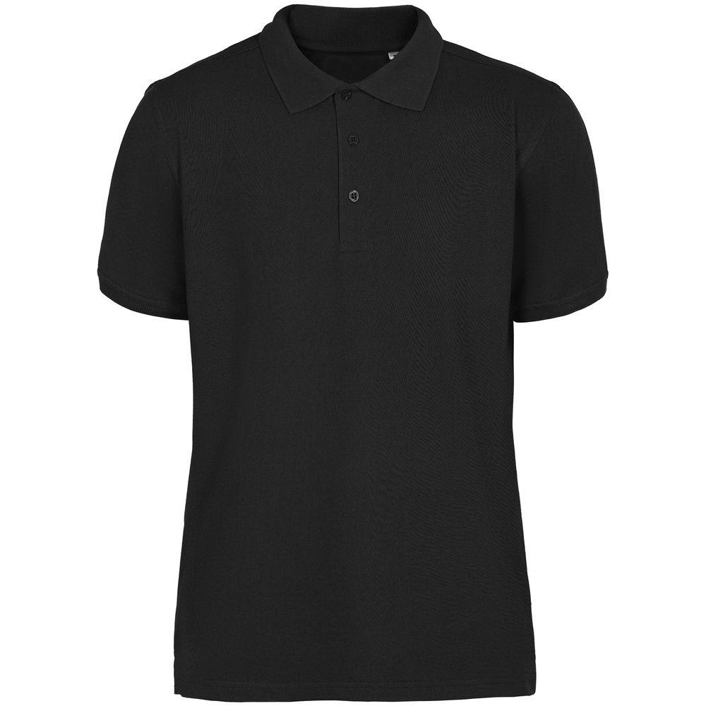Рубашка поло мужская Virma Stretch, черная