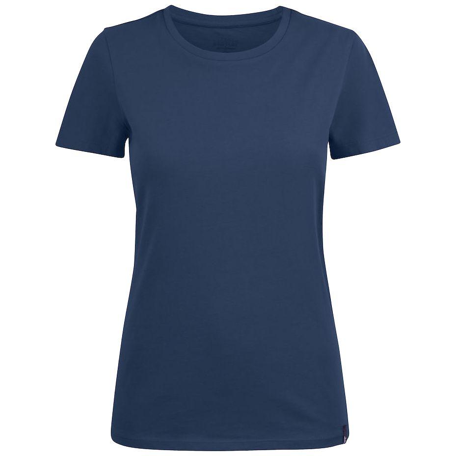 Футболка женская Ladies American U, синяя