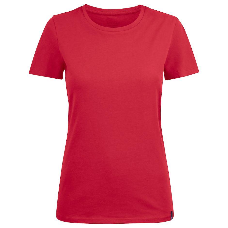 Футболка женская Ladies American U, красная