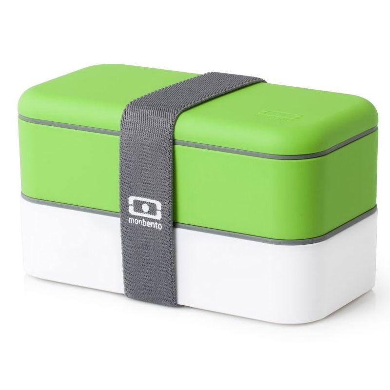 Ланч-бокс MB Original, зеленое яблоко с белым