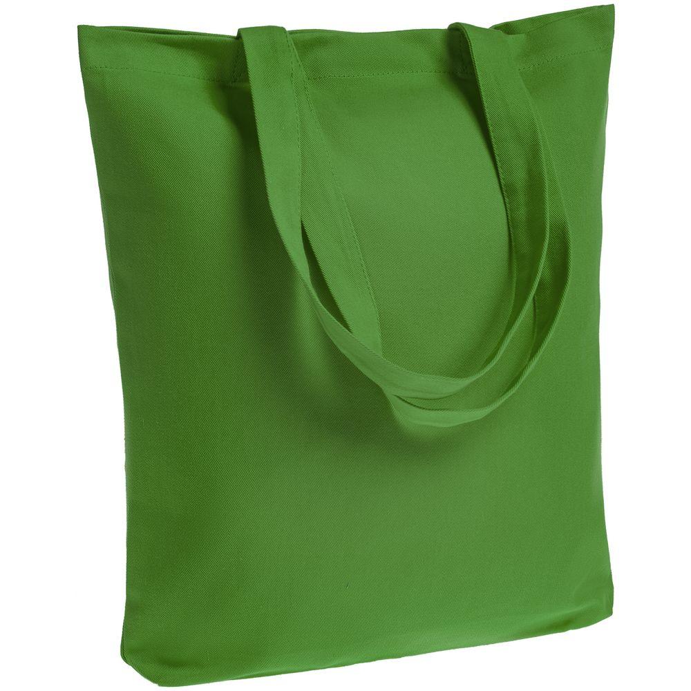Холщовая сумка Avoska, ярко-зеленая