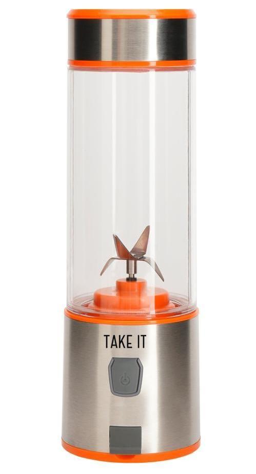 Портативный блендер Take It X4, оранжевый