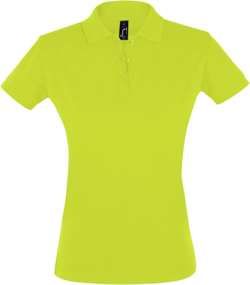 Рубашка поло женская PERFECT WOMEN 180 зеленое яблоко