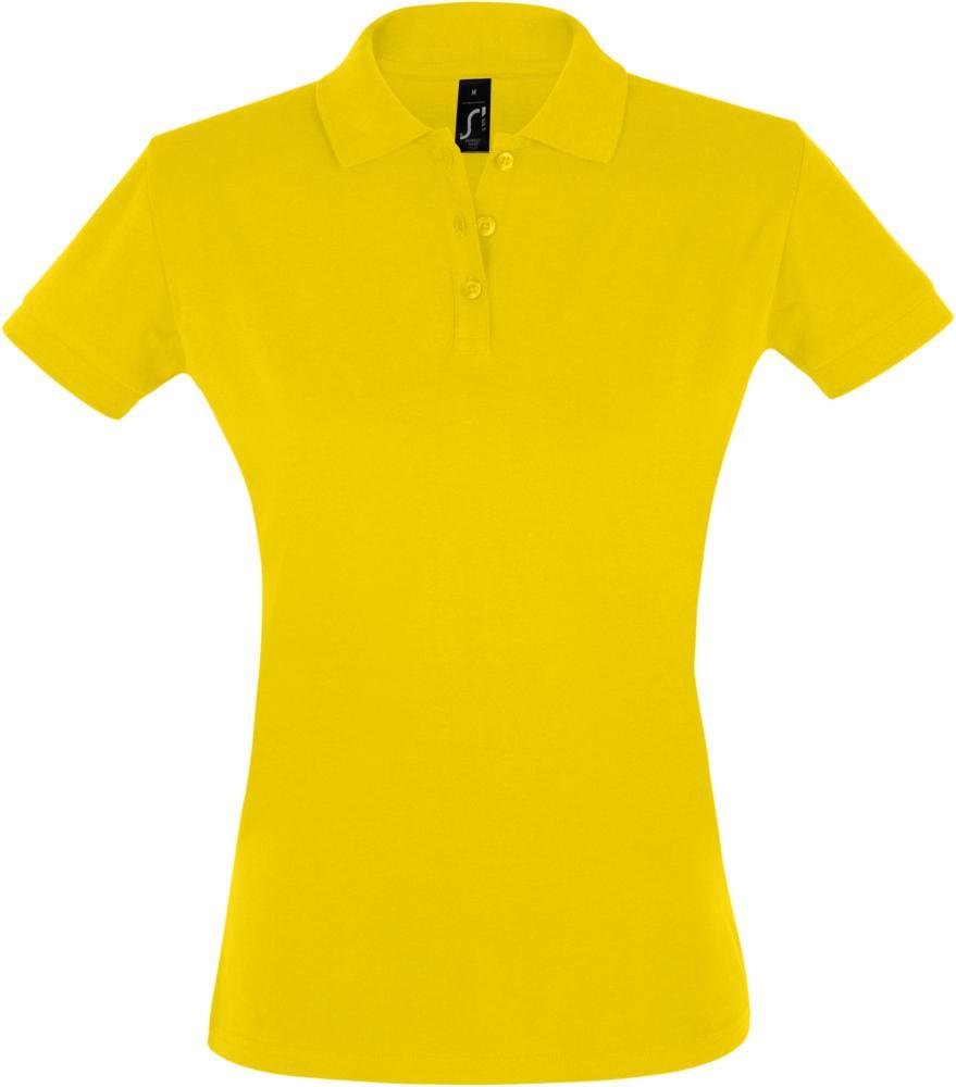 Рубашка поло женская PERFECT WOMEN 180 желтая
