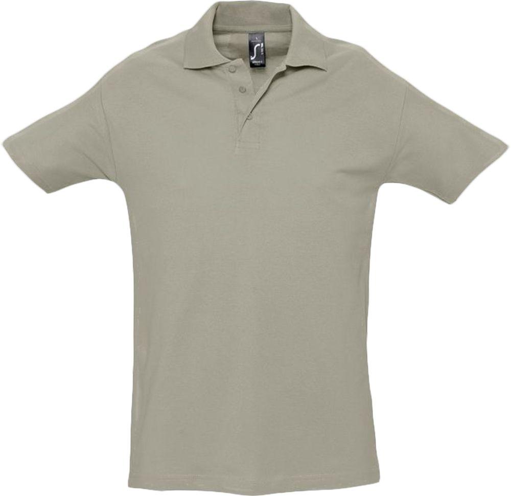 Рубашка поло мужская SPRING 210, хаки