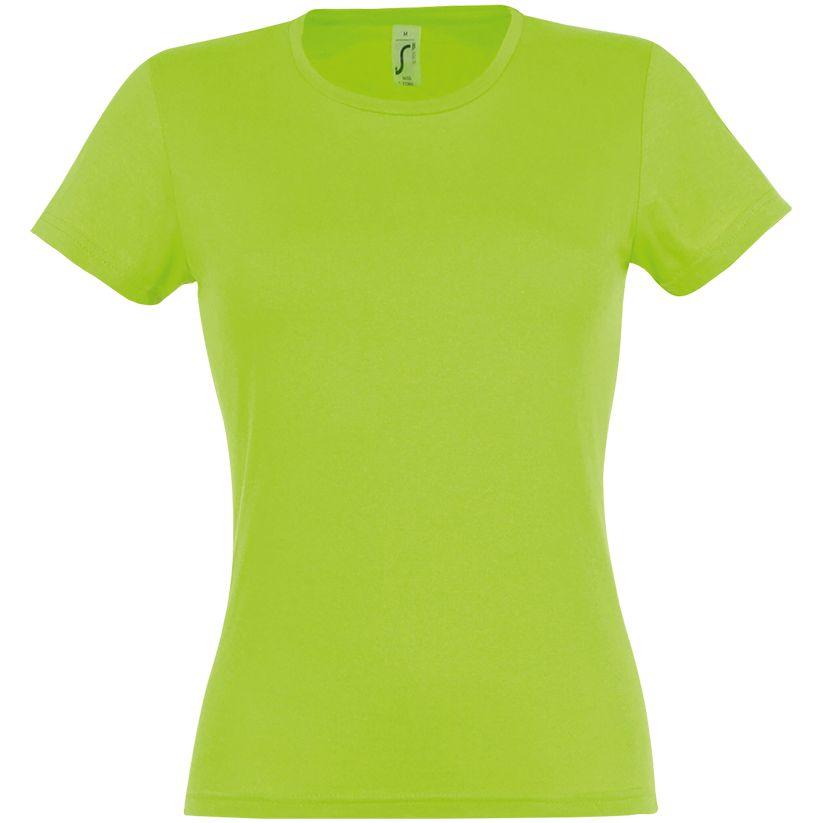 Футболка женская MISS 150, зеленый лайм