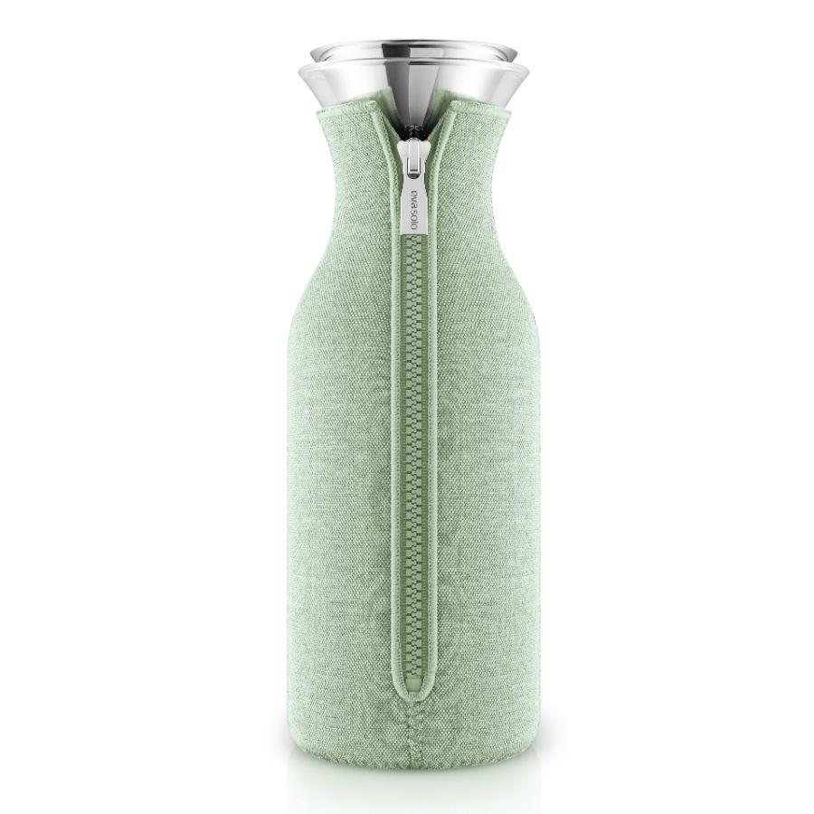 Графин Fridge в чехле, светло-зеленый (эвкалиптовый)
