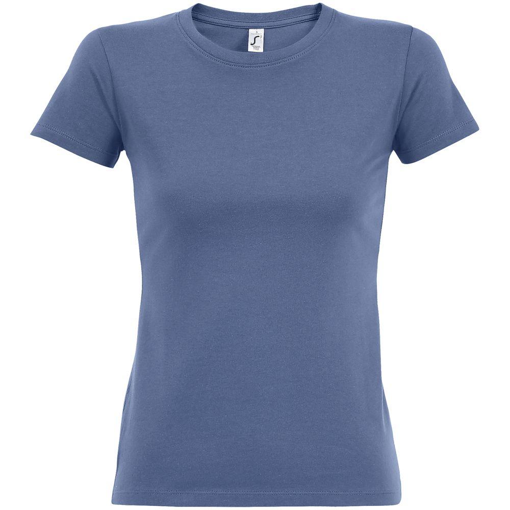 Футболка женская Imperial Women 190, синяя (лавандовая)