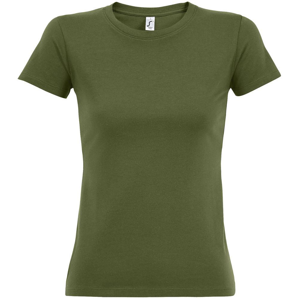 Футболка женская Imperial Women 190, зеленый хаки