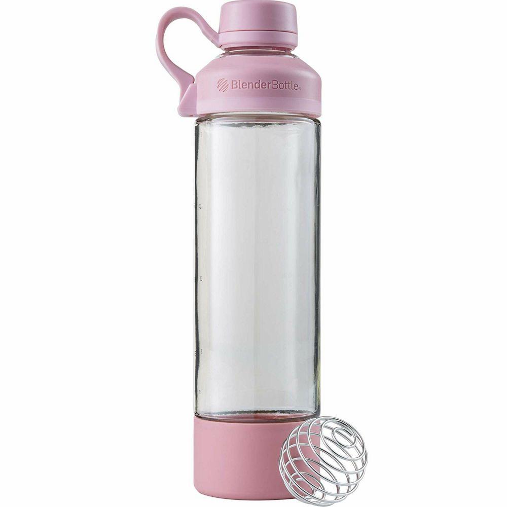 Спортивная бутылка-шейкер Mantra, розовая