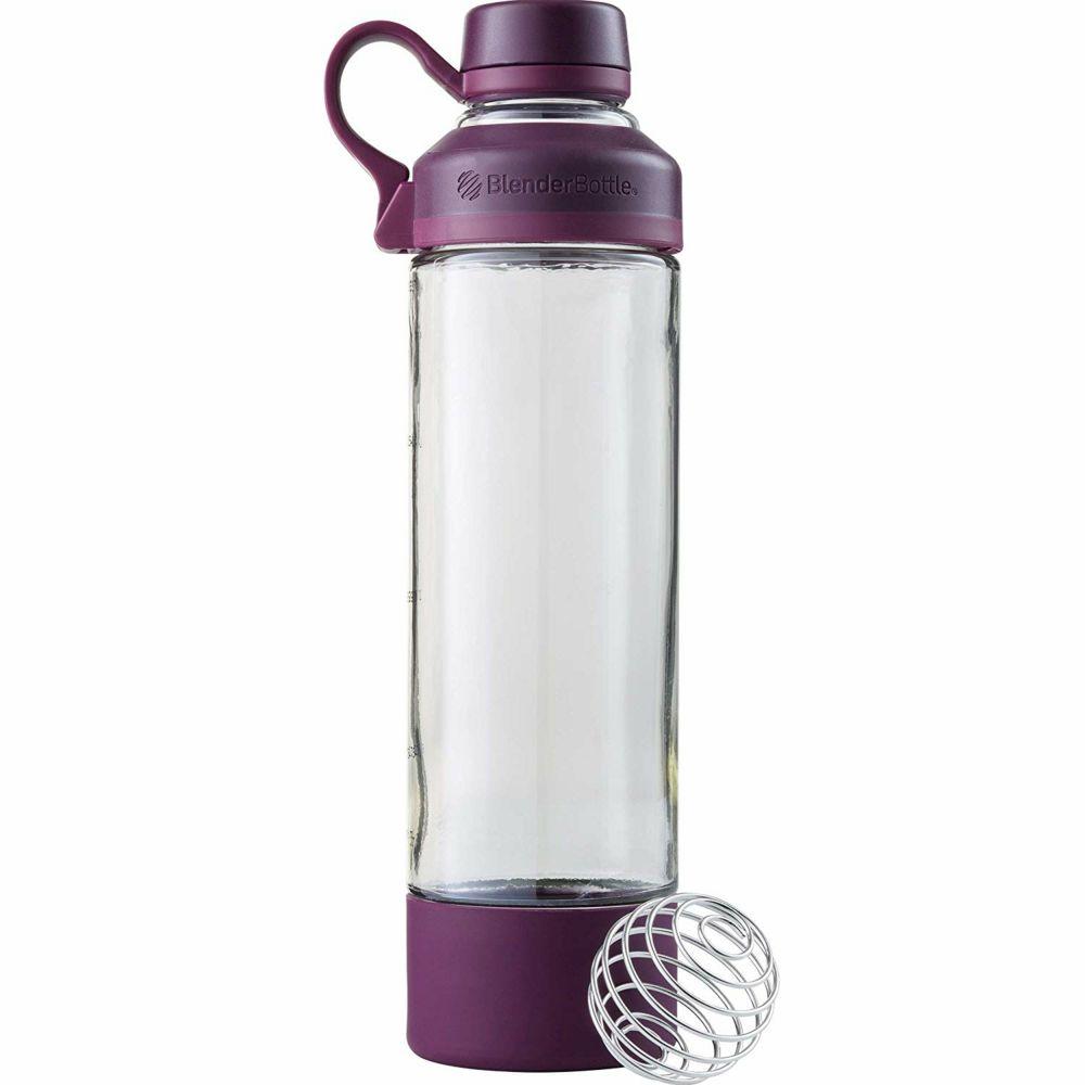 Спортивная бутылка-шейкер Mantra, фиолетовая (сливовая)