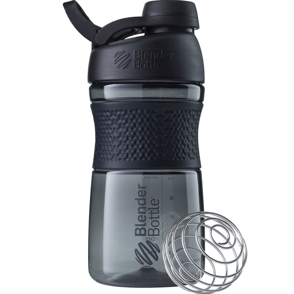 Спортивный шейкер SportMixer Twist Cap, черный