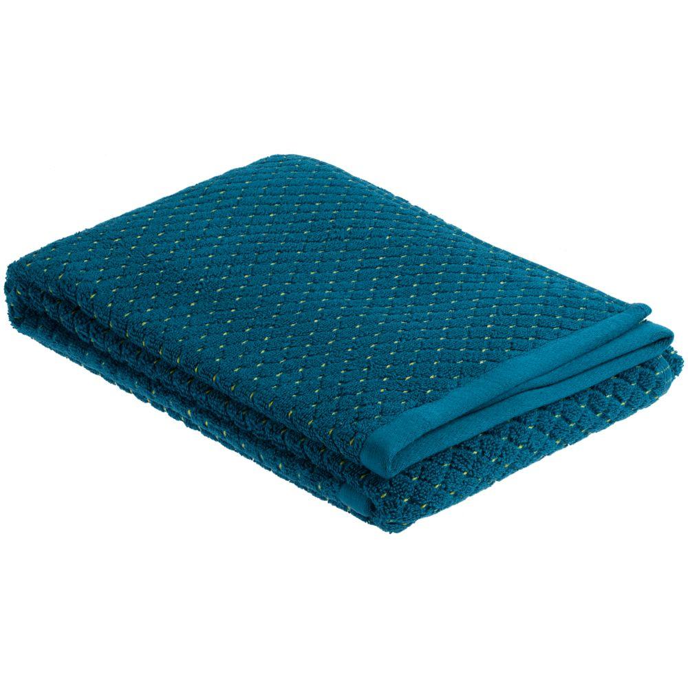 Полотенце Ermes, большое, темно-синее