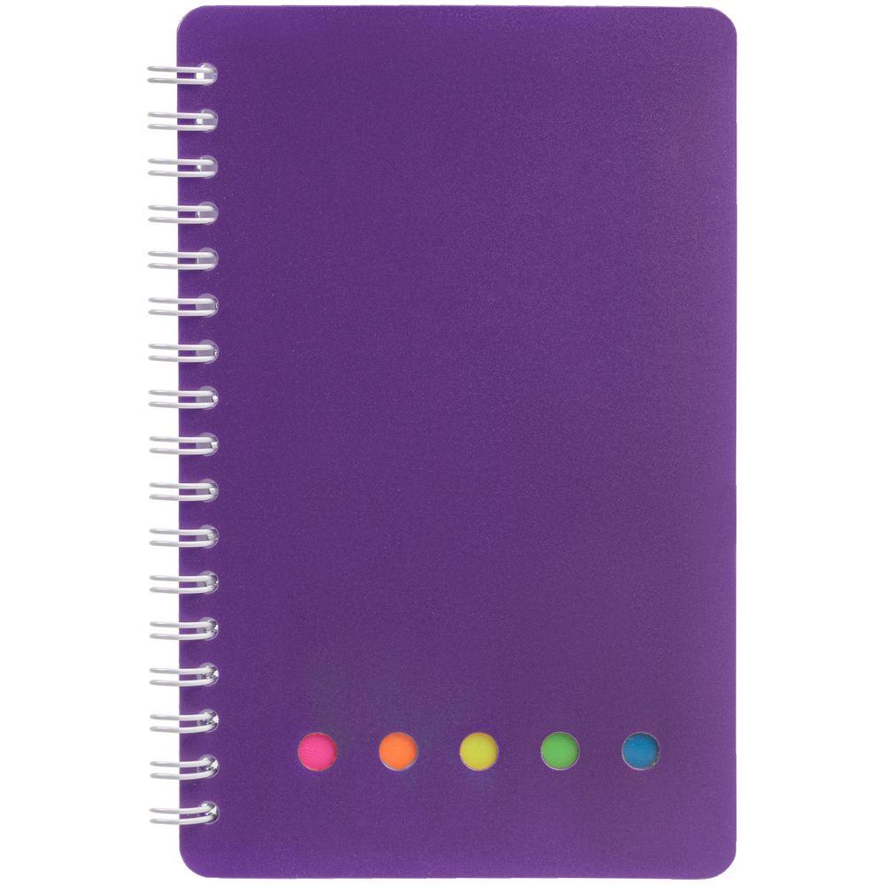 Блокнот Stick, фиолетовый