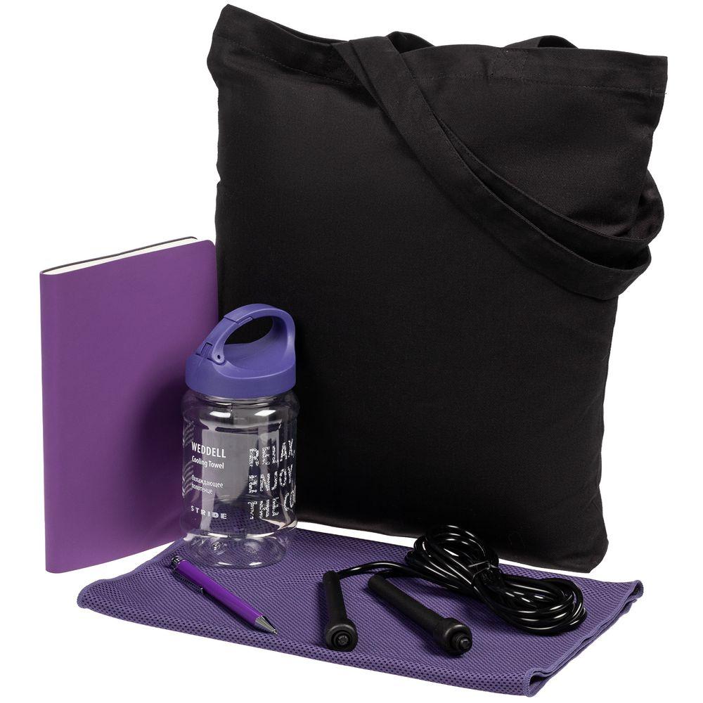 Набор Workout, фиолетовый