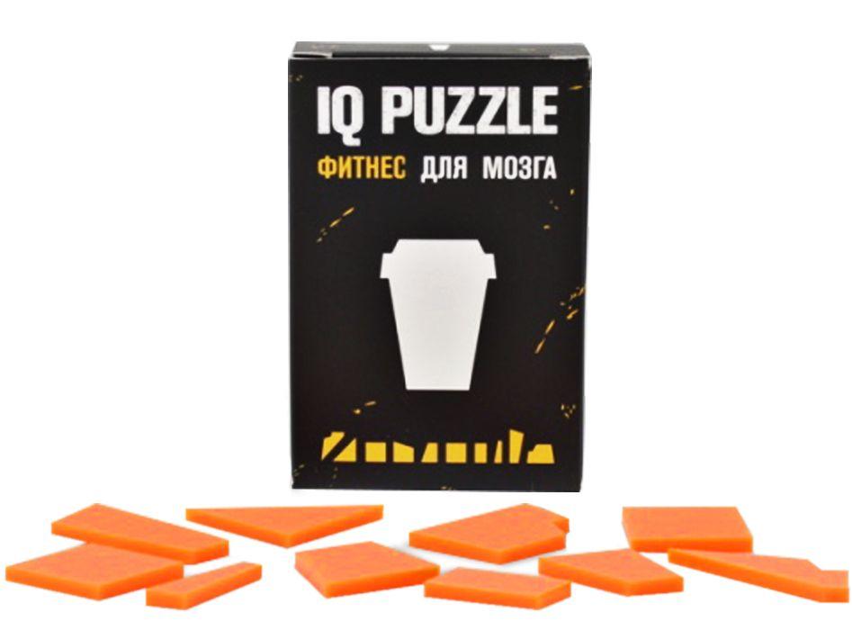 Головоломка IQ Puzzle, кофейный стаканчик