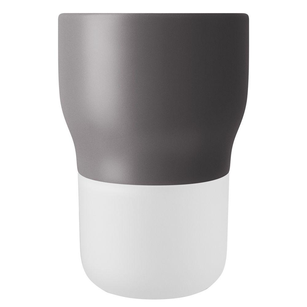 Горшок для растений Flowerpot, средний, серый
