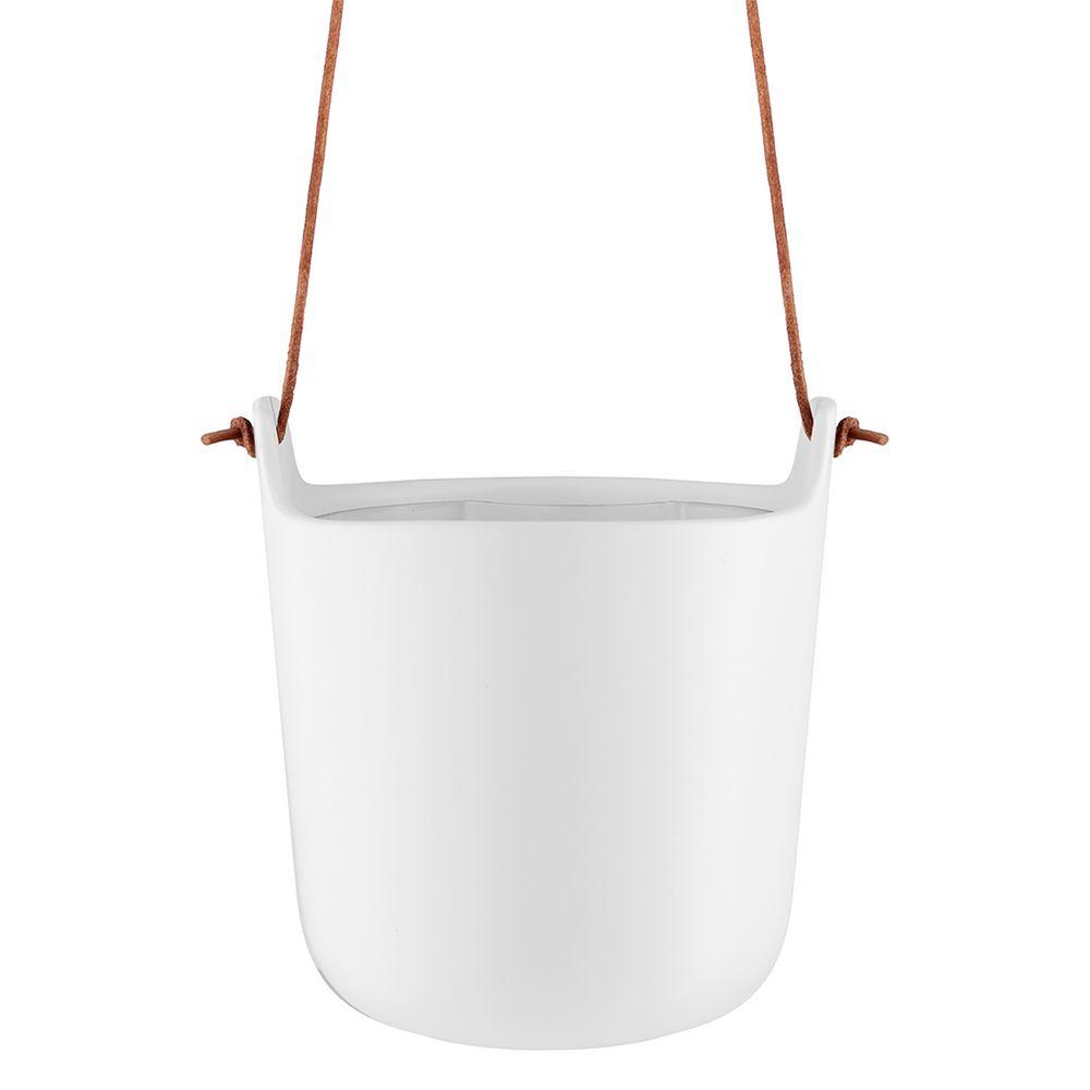 Горшок для растений Flowerpot, подвесной, белый