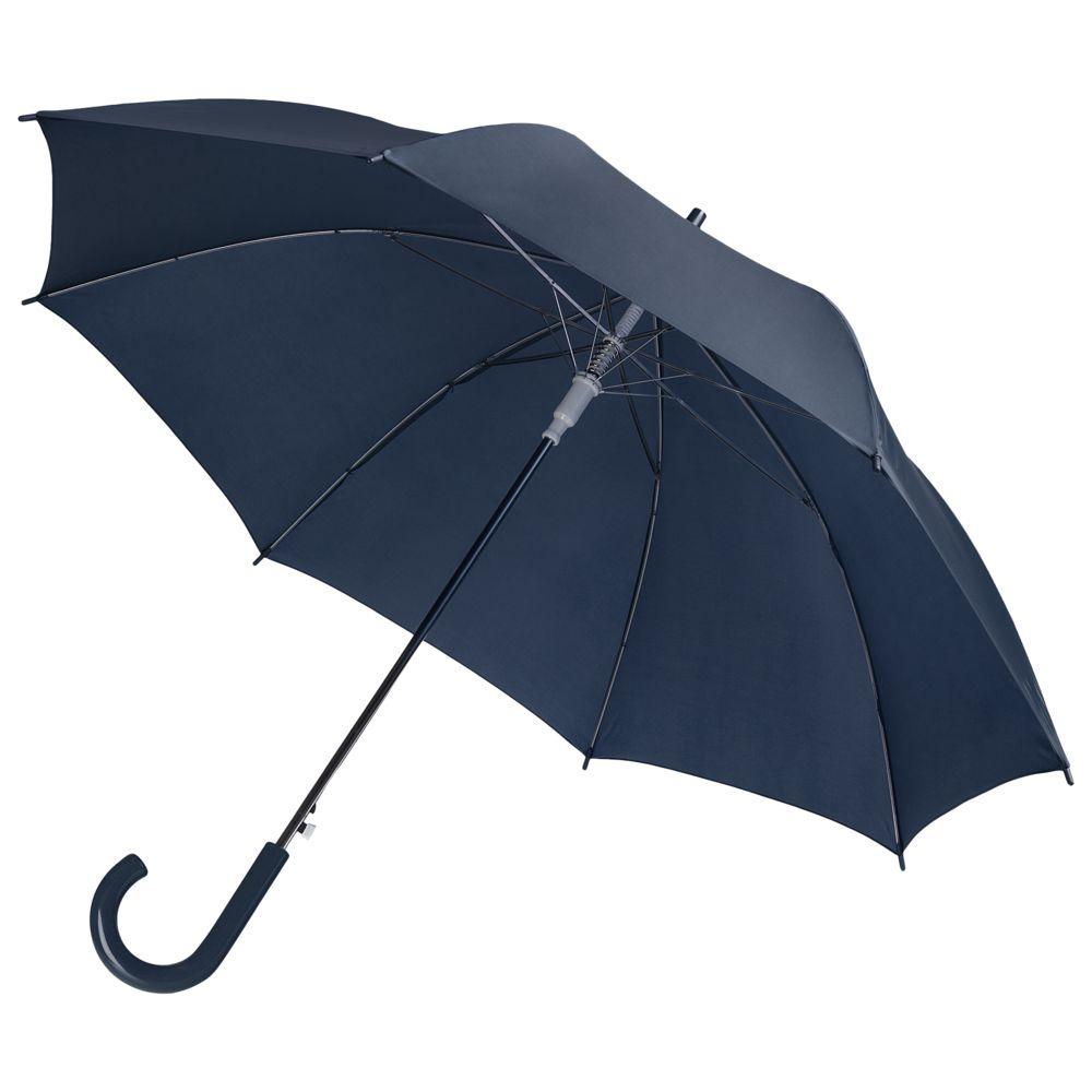 Зонт-трость Unit Promo, темно-синий