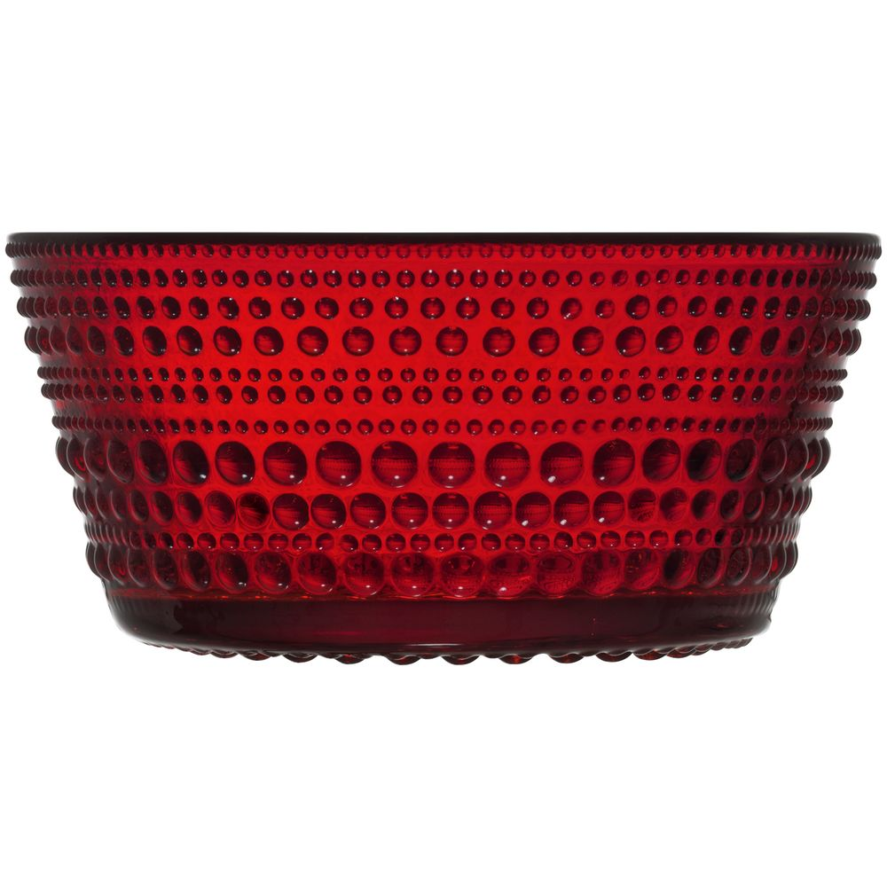 Миска сервировочная Kastehelmi, красная