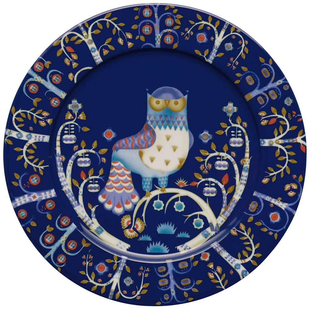 Тарелка Taika, синяя