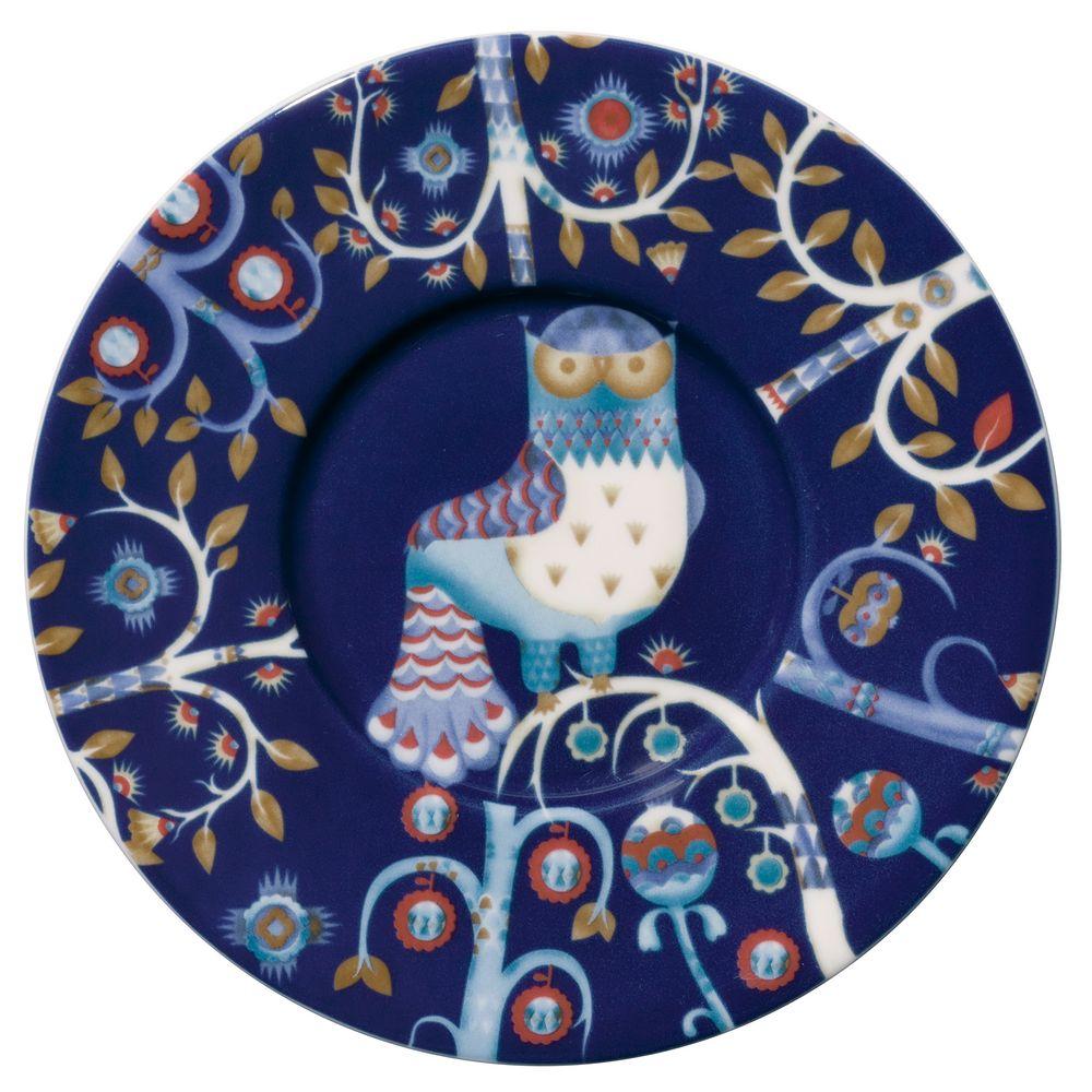 Блюдце Taika под кофейную чашку, синее