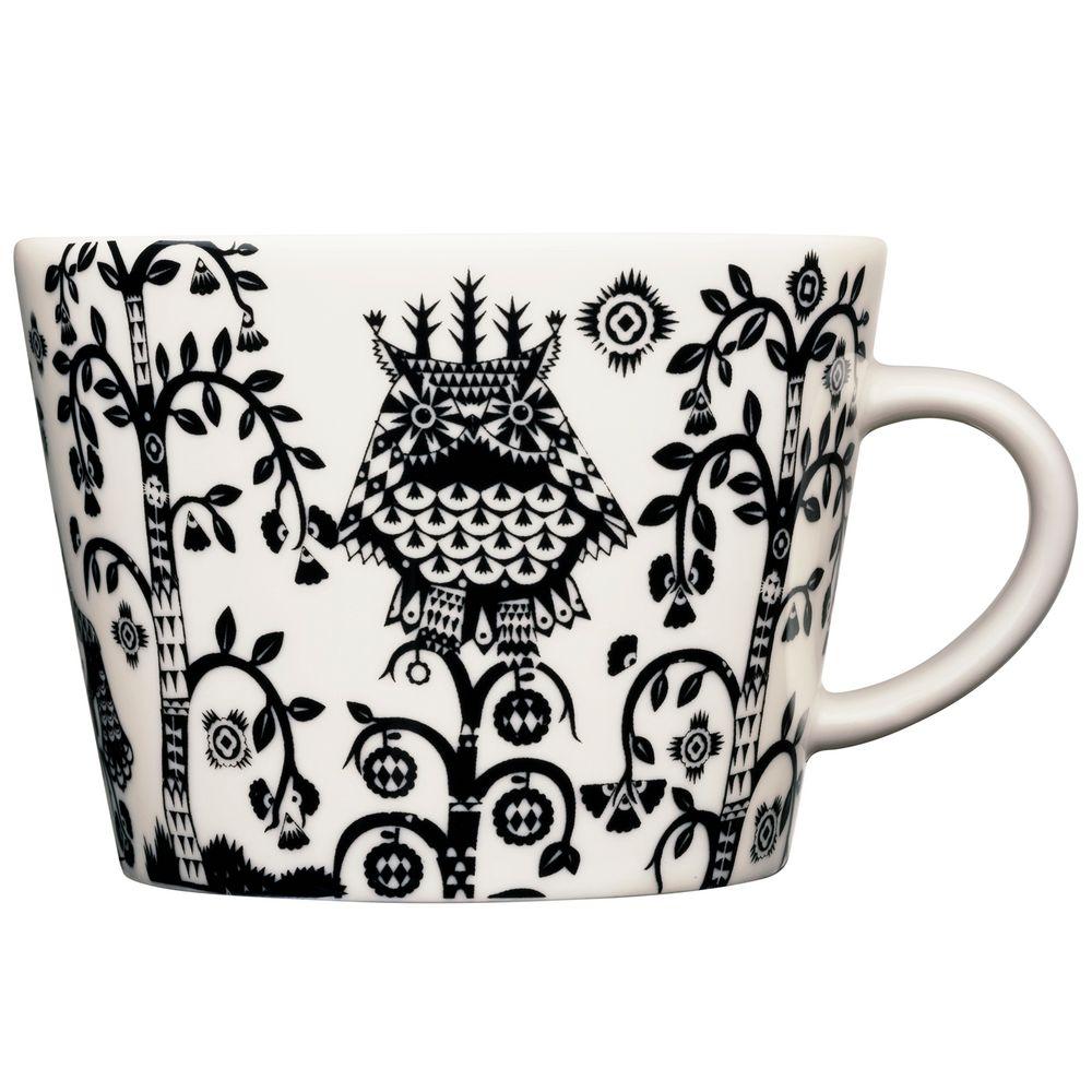 Чашка кофейная Taika, черная