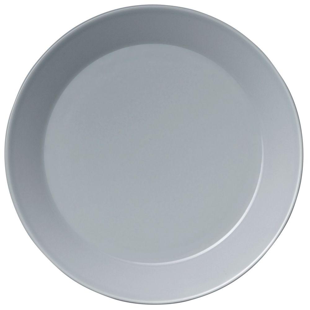Тарелка Teema, большая, серая