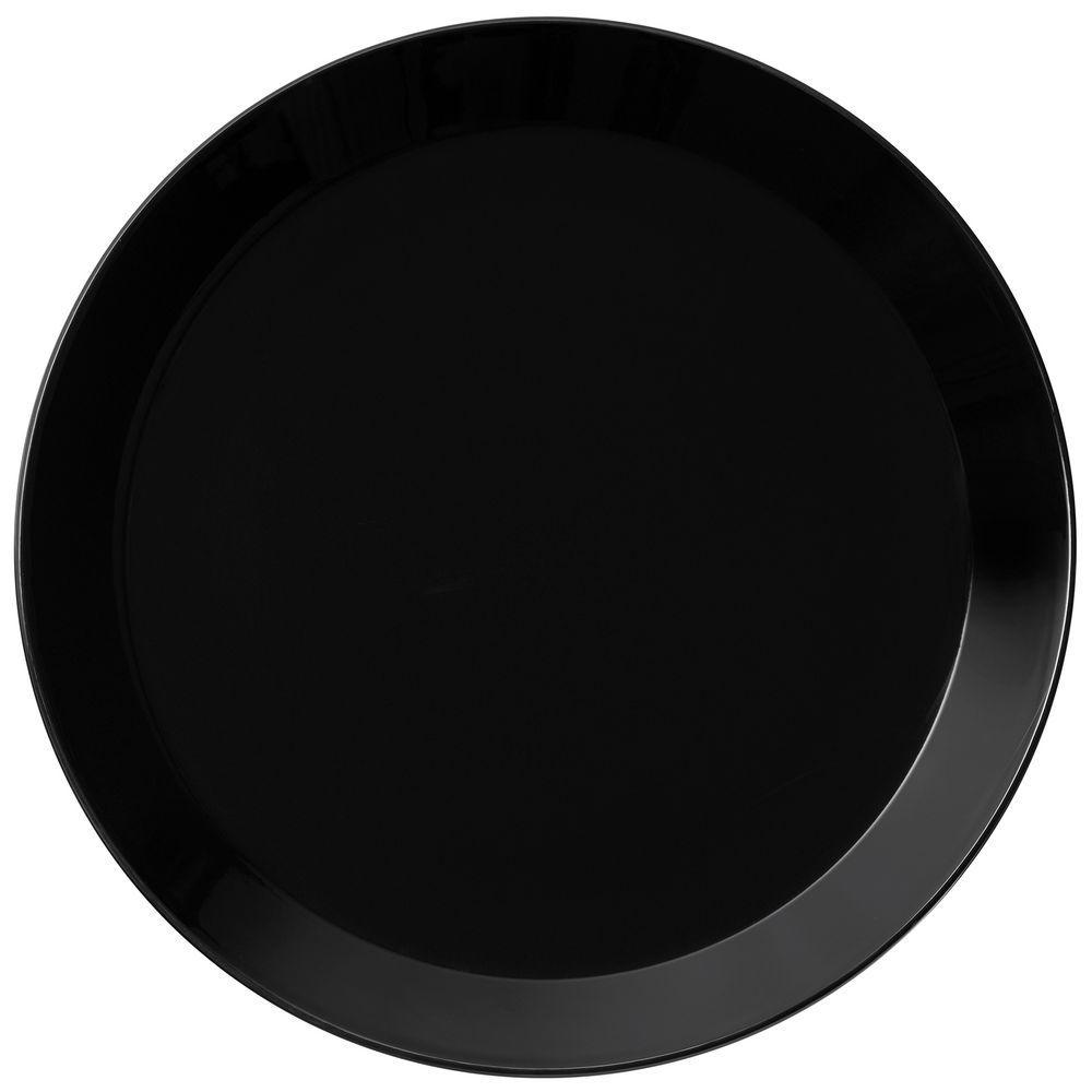 Тарелка Teema, большая, черная