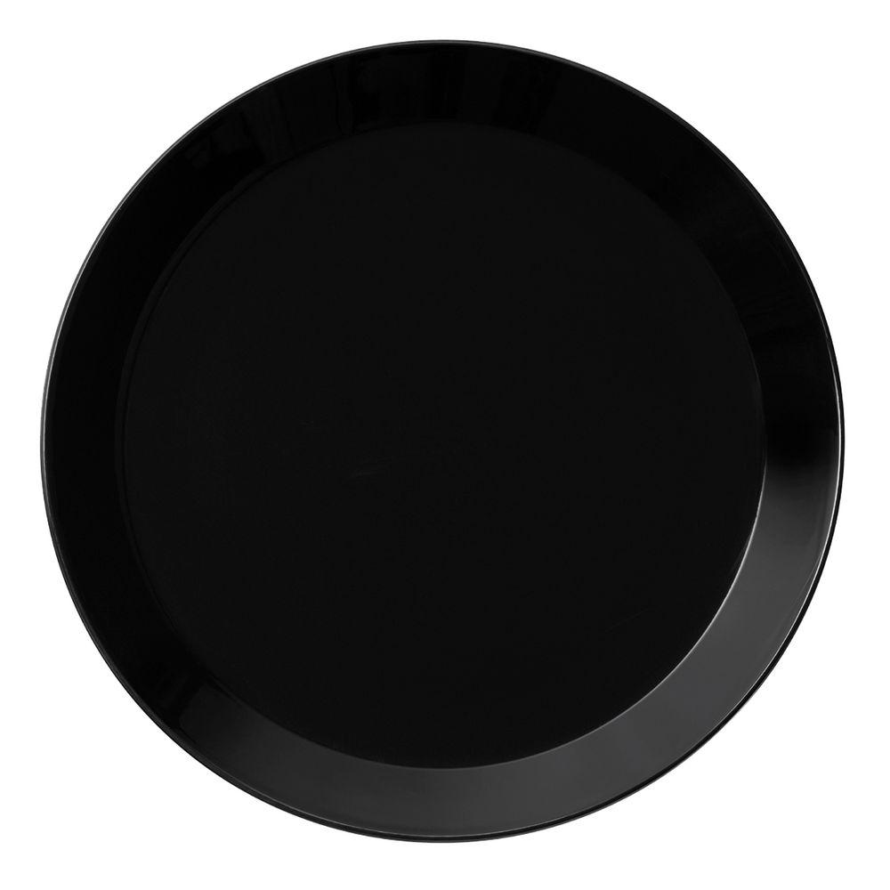 Тарелка Teema, средняя, черная