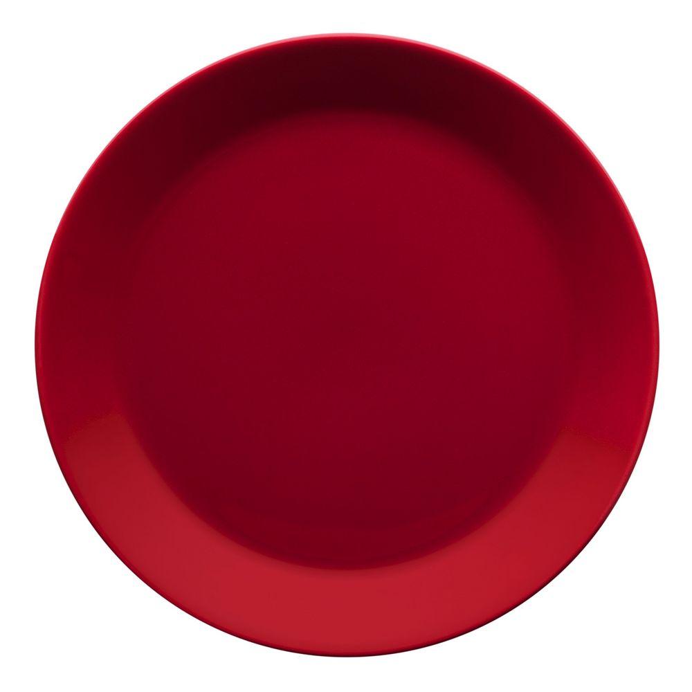 Тарелка Teema, средняя, красная
