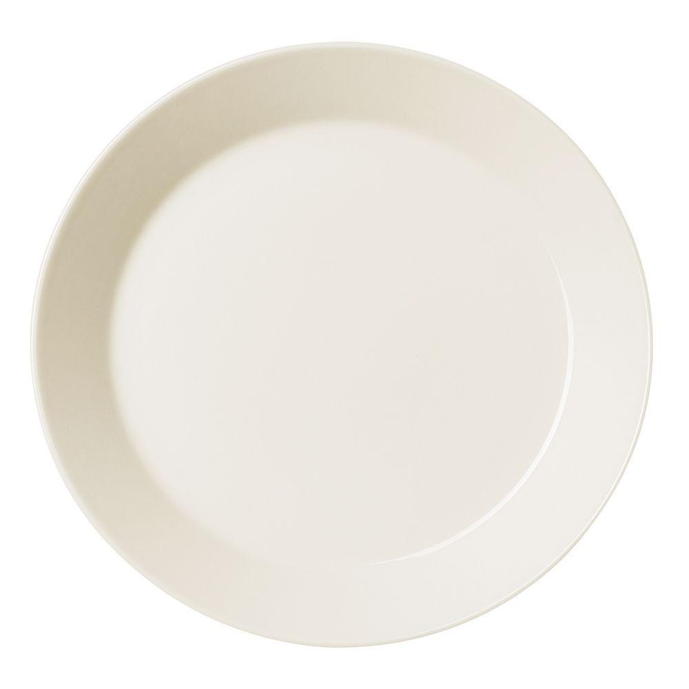 Тарелка Teema, средняя, белая