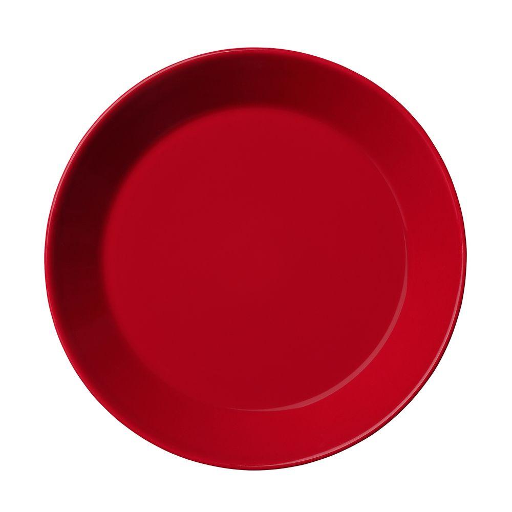 Тарелка Teema, малая, красная