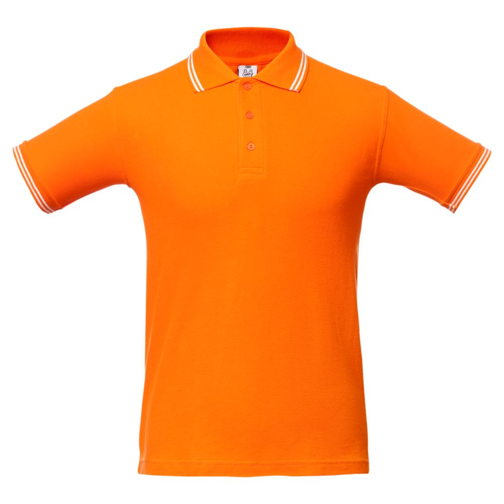 Рубашка поло Virma Stripes, оранжевая