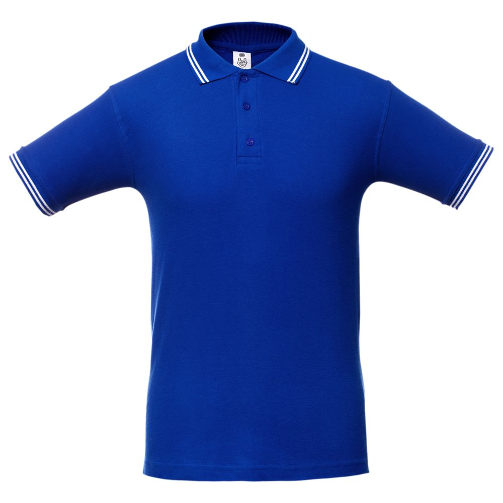 Рубашка поло Virma Stripes, ярко-синяя