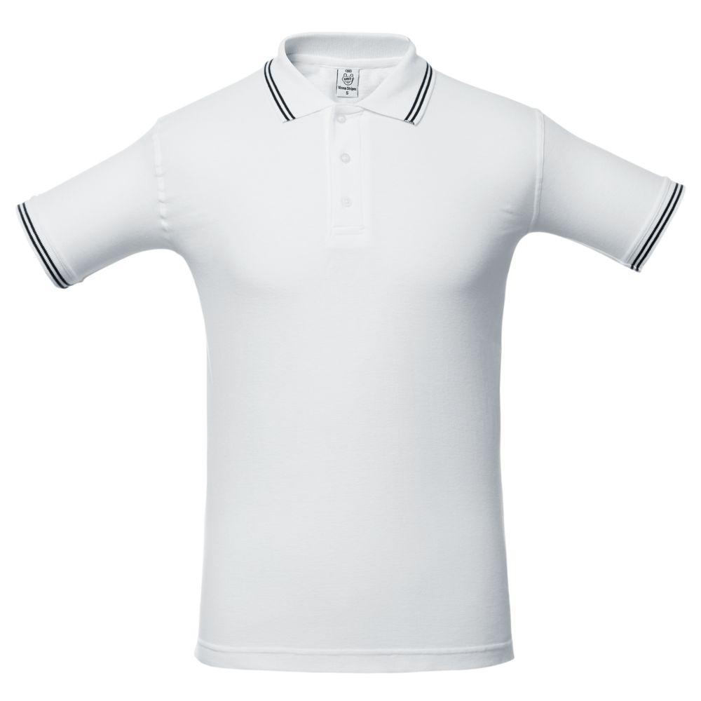 Рубашка поло Virma Stripes, белая