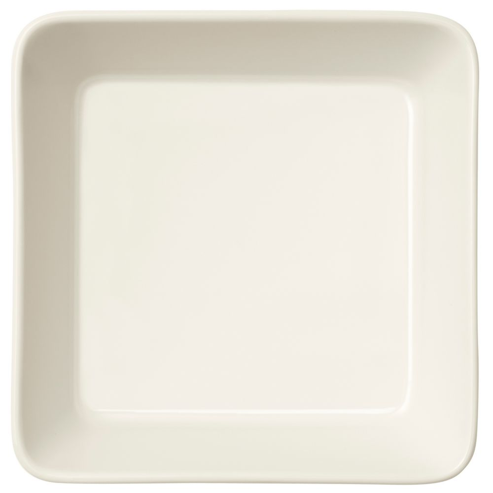 Тарелка Teema, квадратная, белая