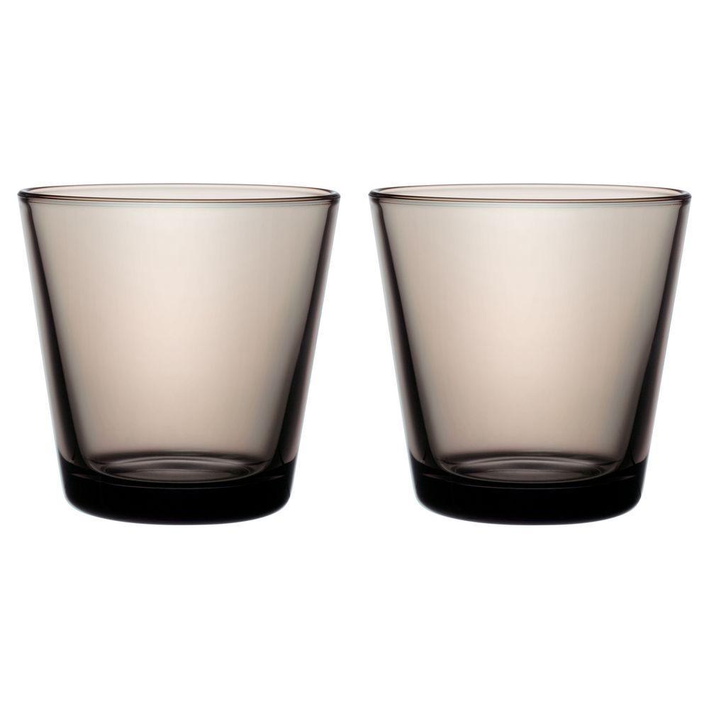 Набор малых стаканов Kartio, коричневый