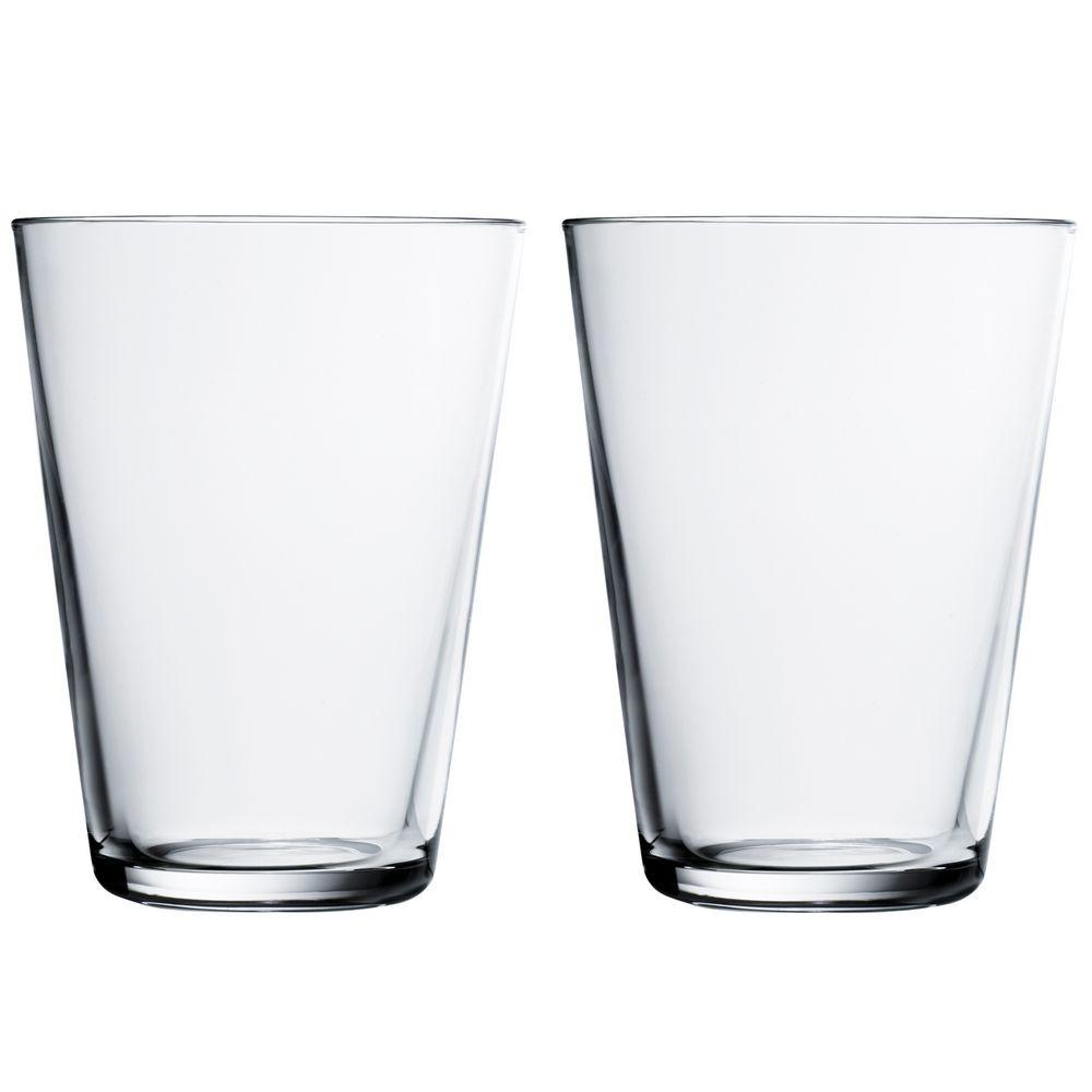 Набор больших стаканов Kartio, прозрачный