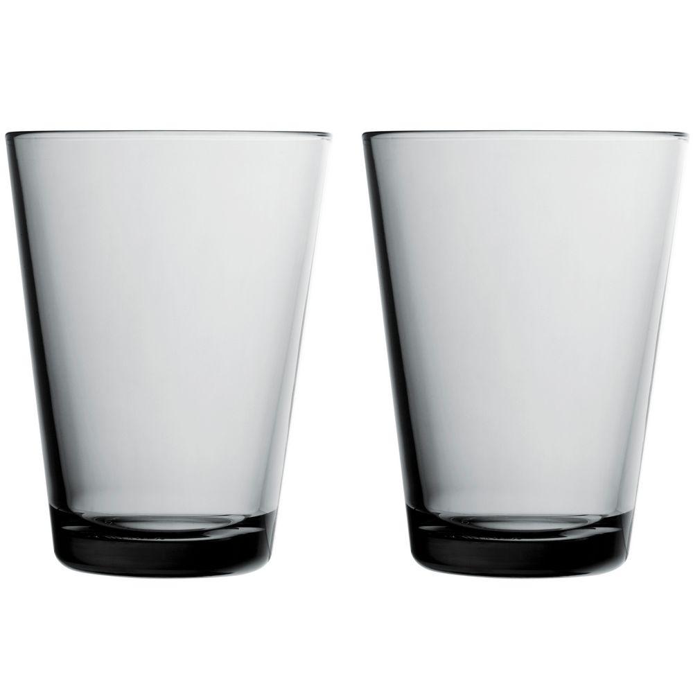 Набор больших стаканов Kartio, серый