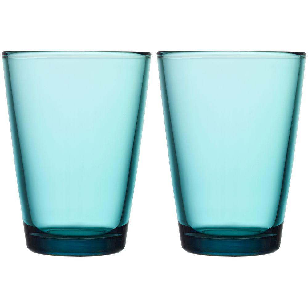 Набор больших стаканов Kartio, бирюзовый